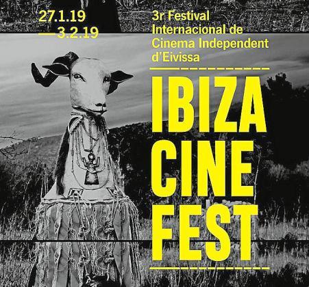 Imagen del cartel anunciador del Ibizacinefest.