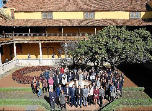Imagen del encuentro del Grupo Ciudades Patrimonio que se produce en La Laguna.