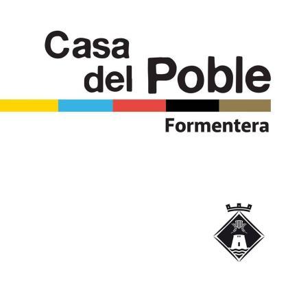 Cartel Casa del Poble de Formentera