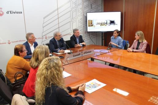 Presentación de la nueva imagen de Fitur en el Consell de Ibiza