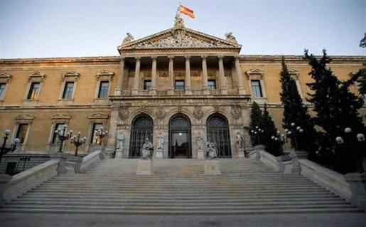 Fachada de la Biblioteca Nacional.