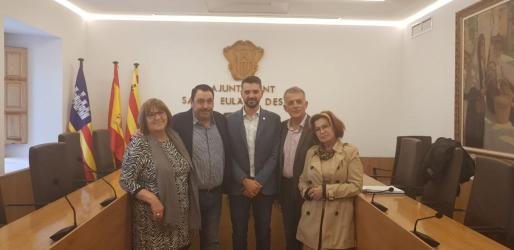 Miembros del PSOE de Santa Eulària.