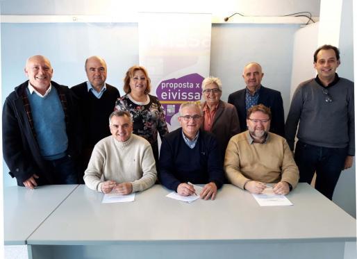 Los responsables de la coalición han ratificado el acuerdo y han sentado las bases de lo que será su campaña electoral.