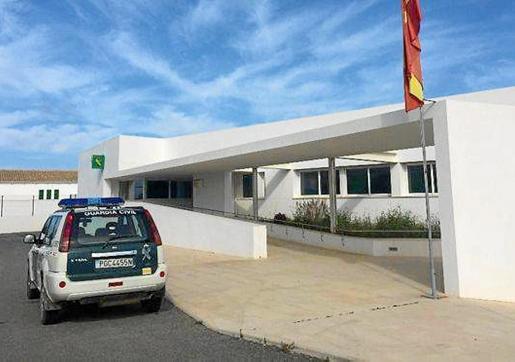 Imagen de archivo del cuartel de la Guardia Civil de Formentera.