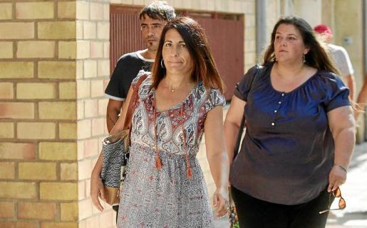 Aida Alcaraz acude a los juzgados de Ibiza en una imagen de archivo.
