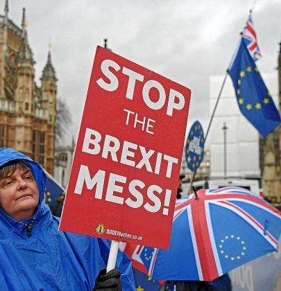 División de opiniones entre la población británica por este proceso.