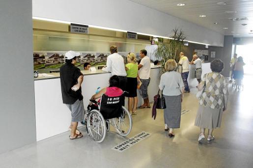 El centro de salud de Vila, en una imagen de archivo, ha aumentado su actividad un 3,36% durante el año pasado.