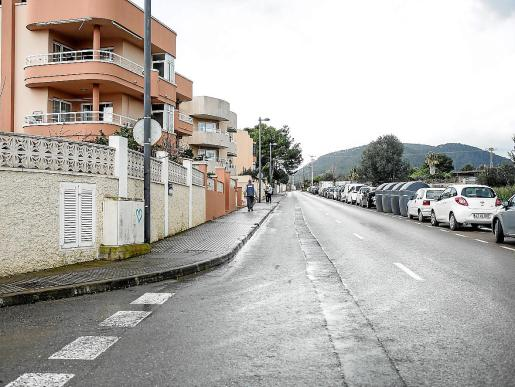 Imágenes de la zona del barrio donde los vecinos reclaman más badenes, presencia policial y señales.