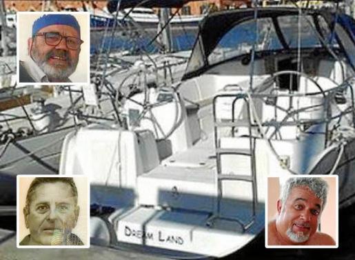 El velero 'Dream Land' zarpó de Palma el 5 de enero con los tripulantes desaparecidos.
