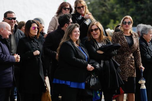 Cristina Ribas en las fiestas de Santa Agnés