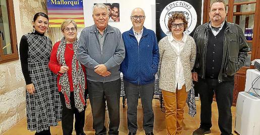 Carme Coll, Coloma Ferretjans, Jordi Cloquell, Francesc Aguiló, Maribel Payeras y Guillem Rosselló.
