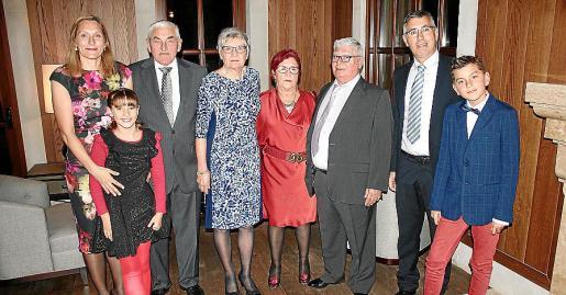 Esther Oliver, Anette Andersen, Anders Andersen, Birte Andersen, Maria Garcia Vico, Pedro Oliver Serra, Pedro Oliver Garcia y Daniel Oliver.