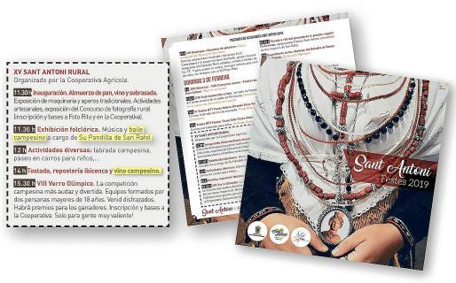 Los errores de traducción en el programa de fiestas oficial del Ayuntamiento de Sant Antoni.