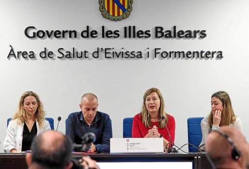 La presentación del Plan Estratégico de Salud Mental en Balears, ayer en el hospital Can Misses.