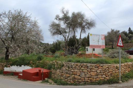 Arrancan en Sant Carles las obras de peatonalización de la Font de Peralta.
