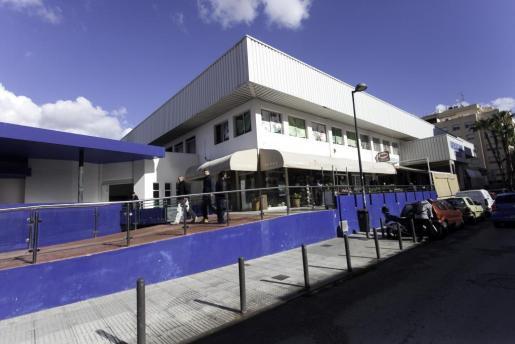 Imagen de la parte exterior del Mercat Nou de Ibiza.