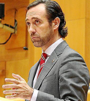 José Ramón Bauzá en el Senado