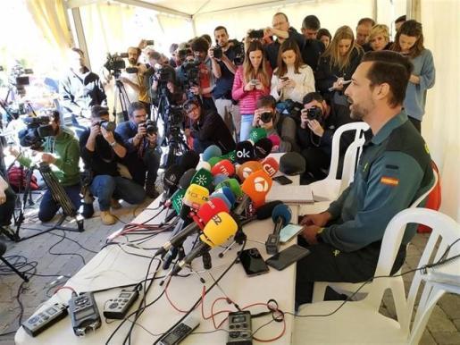 La Guardia Civil afirma que la montaña marca el ritmo de trabajo en el operativo de rescate de Julen.