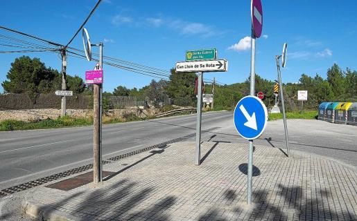 Uno de los robos tuvo lugar en el municipio de Santa Eulària.