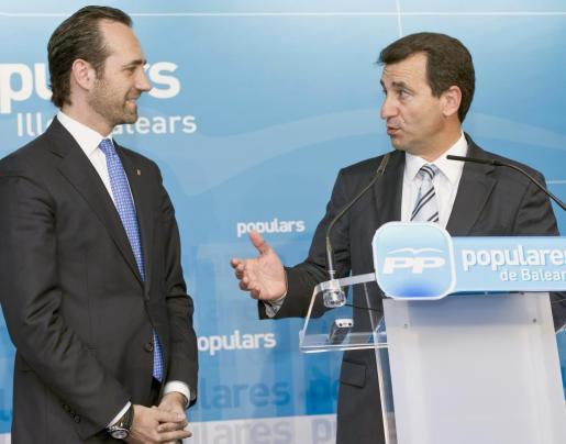 Las relaciones entre Bauzá y Company han acabado a cero y con desprecio mutuo.