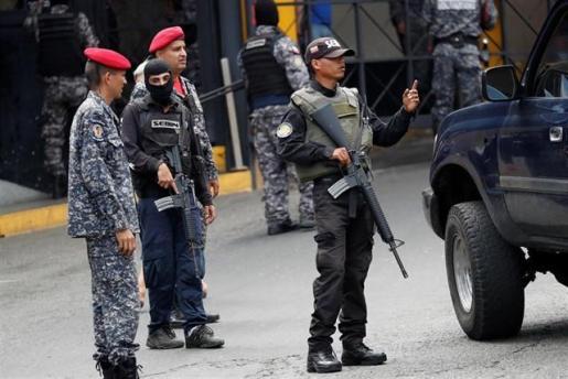 Detenido un periodista español que cubría la crisis política en Venezuela.