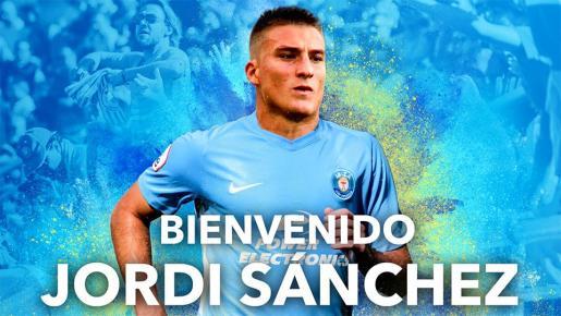 Jordi Sánchez, nuevo jugador de la UD Ibiza.