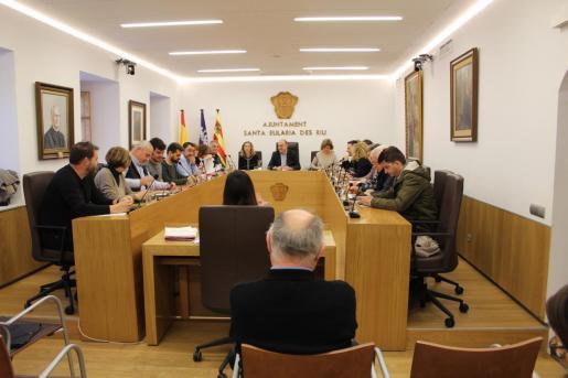 Pleno del Ayuntamiento de Santa Eulària.