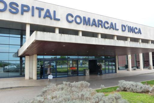 La víctima del apuñalamiento fue evacuada al Hospital Comarcal de Inca.