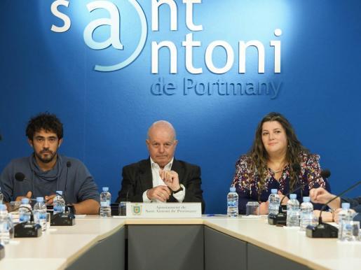 Valdés y Cires apoyan la decisión de Ribas de seguir en el Ayuntamiento de Sant Antoni