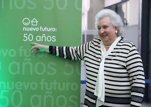 La infanta Pilar de Borbón, en un acto celebrado en Madrid.