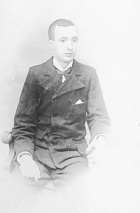 Fotografía de Isidor Macabich que le hizo su amigo Narcís Puget en sus años de juventud.