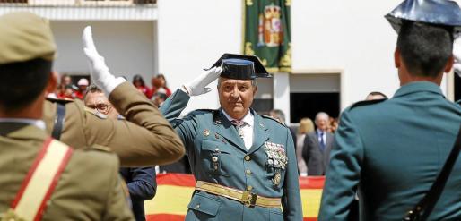 Jaume Barceló fue jefe de la Guardia Civil hasta finales del año pasado, cuando se jubiló y pasó a la situación de reserva.