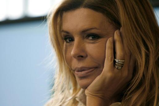 La actriz Bibiana Fernández, en una imagen de archivo.