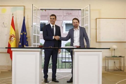 Pedro Sánchez y Pablo Iglesias se reunen en secreto para desbloquear la negociación de los Presupuestos.