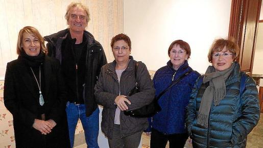 Maria Francisca Bennàssar, Hartmut Botsmann, Antònia Barceló, Rosa Luz Huguet y Maria Teresa Fuster.