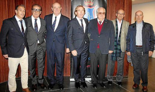 Joaquín Márquez, Bartolomé Tous, Juan Tomás, Bernardino –Dino– Jaume, Ramón Vilana, Miguel Feijóo y Pedro Rojano.