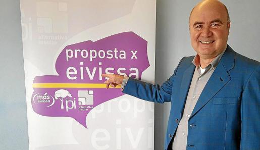 Juan 'Parot' fue ratificado ayer por el comité electoral del partido.