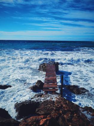 El sendero del mar.