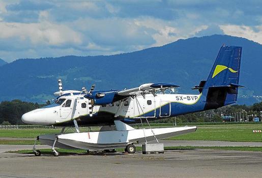 IslaAir operará con hidroaviones del modelo DHC 6-300 Twin Otter.