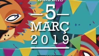 La rúa de Carnaval de Sant Antoni se celebrará el próximo martes 5 de marzo