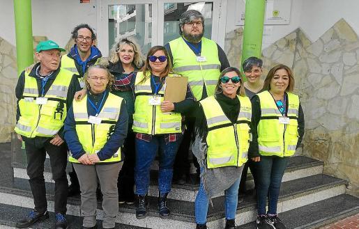 Los participantes hicieron prácticas como informadores ambientales.