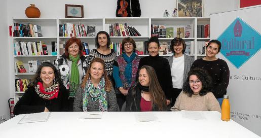 Representantes de la Comisión 8M Eivissa preparan 8 días de 'revuelta feminista'.