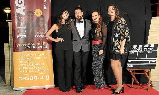 Virginia Galán, Iván Bort, Marta Ferrer y María Jesús Riera.