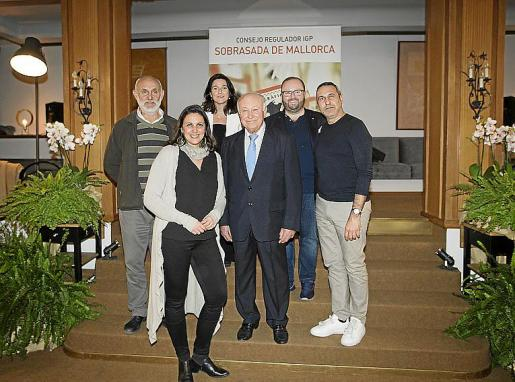 Antoni Pinya, Sonia Santandreu, Antonia Torres, Jaime Ballester, Tommy Ferragut y Jaime Reina.