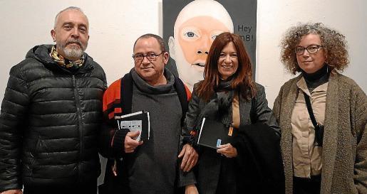 Tomeu Vidal, Jaume Canet, Pilar Rubí y Mariana Sarraute.