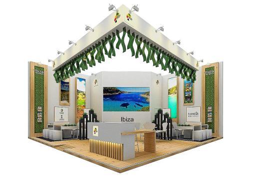 El estand del Consell d'Eivissa. El Consell d'Eivissa, como sucede en las grandes ferias internacionales de turismo, acudirá a la ITB de Berlín con un 'stand' propio y diferenciado del que montará la Agencia de Estrategia Turística de Balears.