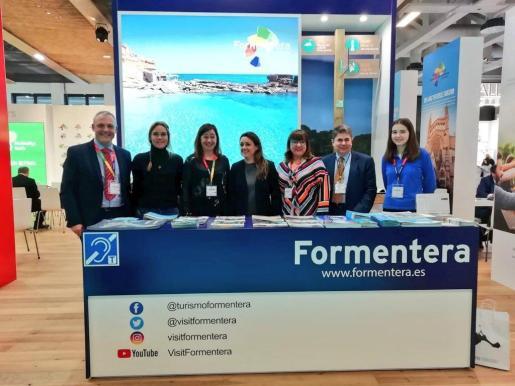 Estand de Formentera.