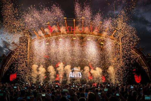 Fiesta de 'Ants' en Ushuaïa Ibiza.