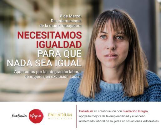 Palladium Hotel Group impulsa diversas acciones con motivo del Día Internacional de la Mujer.