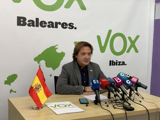 Jorge Campos, presidente de VOX Baleares.